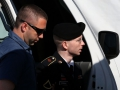 Bradley Manning sentenced to 35 years for leaking hundreds of thousands of 'classified' documents that revealed US War crimes and human rights violations.