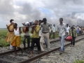 Tragic accident: At least 37 Hindu pilgrims were reported to have died on August 19 after they were crushed by a speeding passenger express while crossing the tracks in Bihar, India.