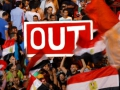 Massive protests erupt in Egypt as millions demand his ouster.