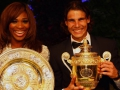 Serena Williams and Rafael Nadal win French Open.