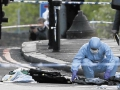 Soldier butchered on London Street.