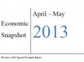 Economic Snapshot April-May 2013