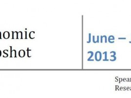 Economic Snapshot June-July 2013