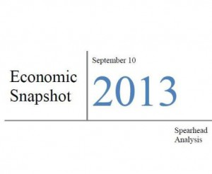 Pakistan's economic snapshot, August - September 2013