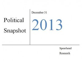 Pakistan's political snapshot, December 2013 – January 2014
