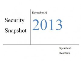 Pakistan's Security snapshot, December 2013 – January 2014