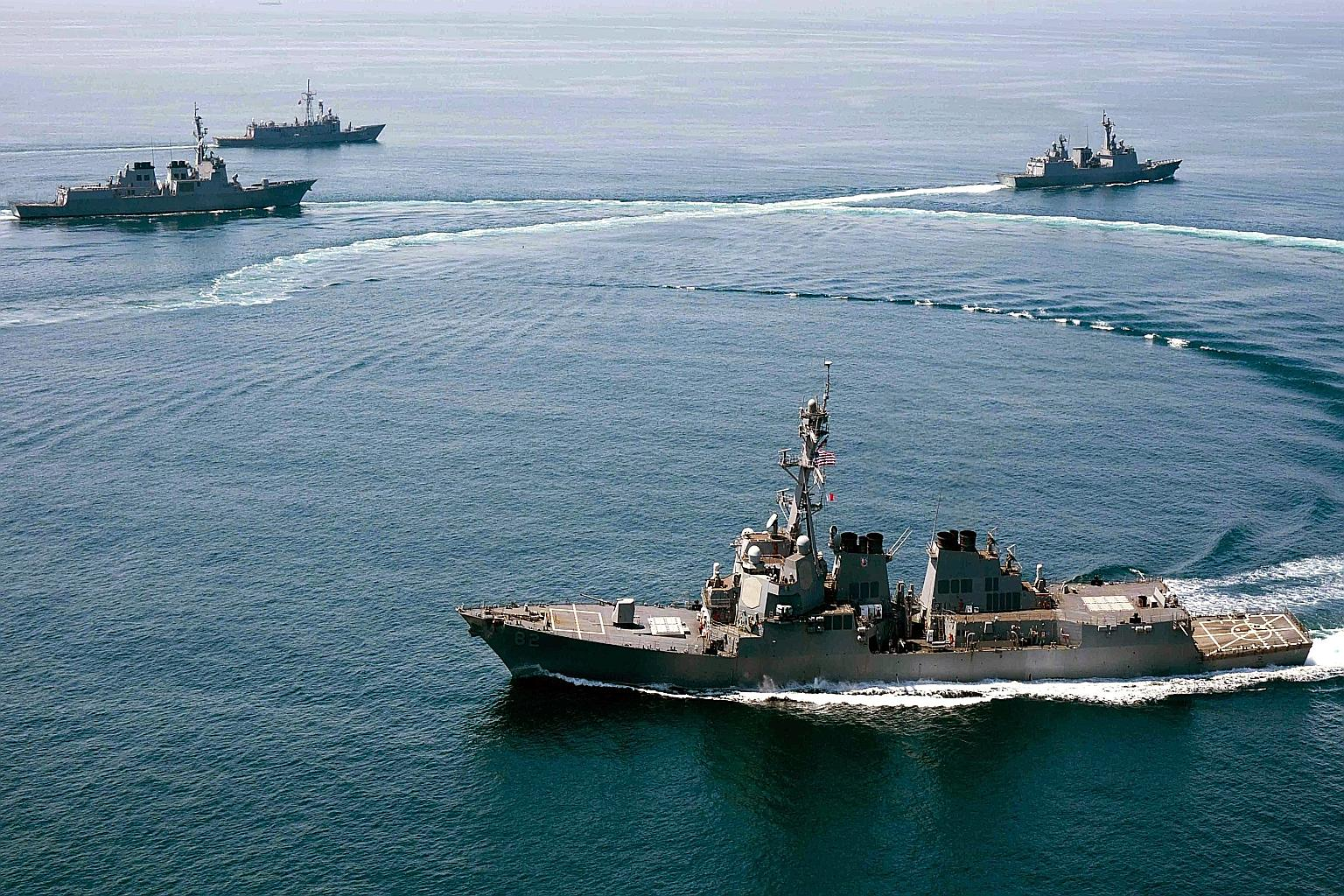 A big power game in South China Sea?