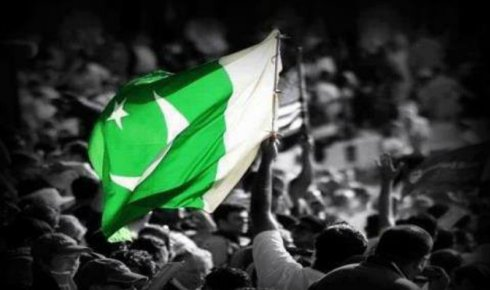 Beautiful Picture of Pakistan Flag