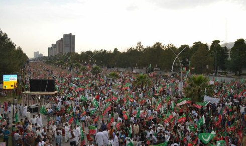PTI Rally in Islamabad