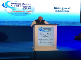 Indian Ocean Conference 2016 in Singapore: India's Soft Power on Display