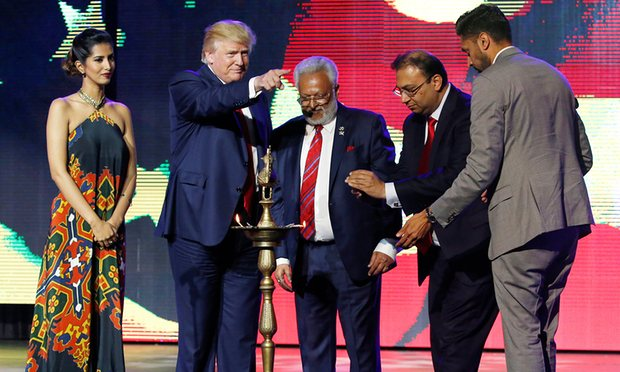Hindus for Trump: behind the uneasy alliance with rightwing US politics