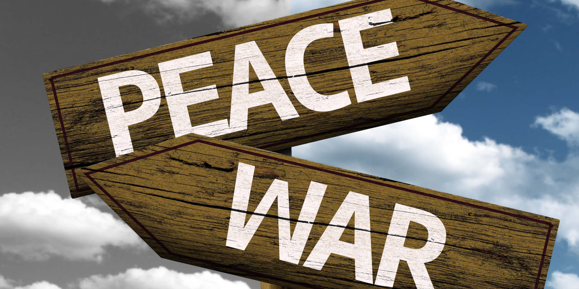 Is no-peace, no-war sustainable?