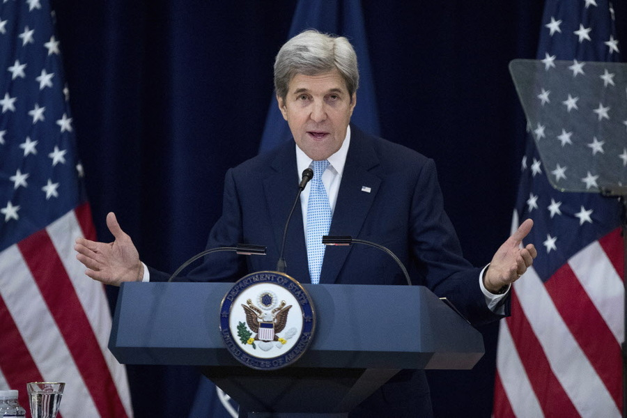 John Kerry: Mideast peace nearing a point of no return