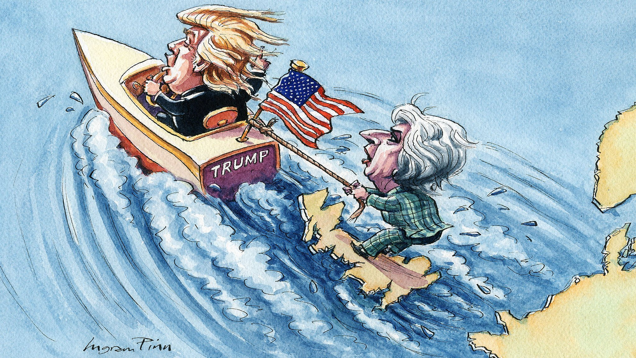 Brexit, Donald Trump and the threat to Europe