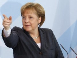 Frau Merkel Comes to Washington