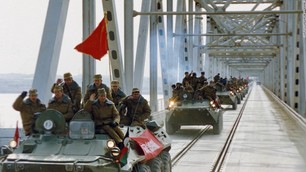 A look back to the Soviet invasion of 1979