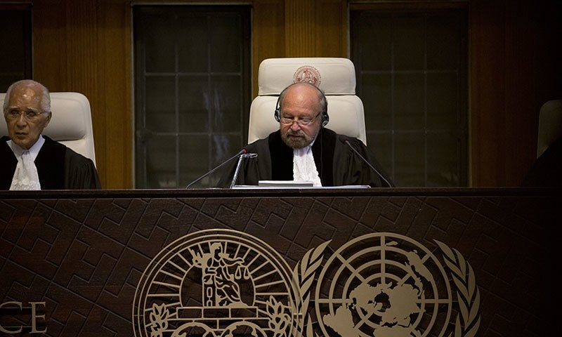 Experts wonder why ICJ jurisdiction was recognised in March