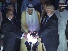 FIRE BURN AND CAULDRON BUBBLE FOR TRUMP