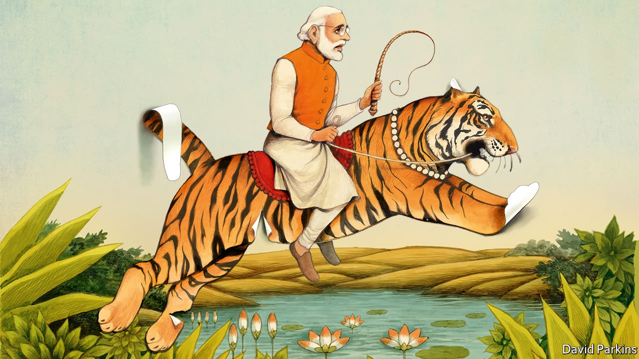 The economy under Modi India's prime minister is not as much of a reformer as he seems