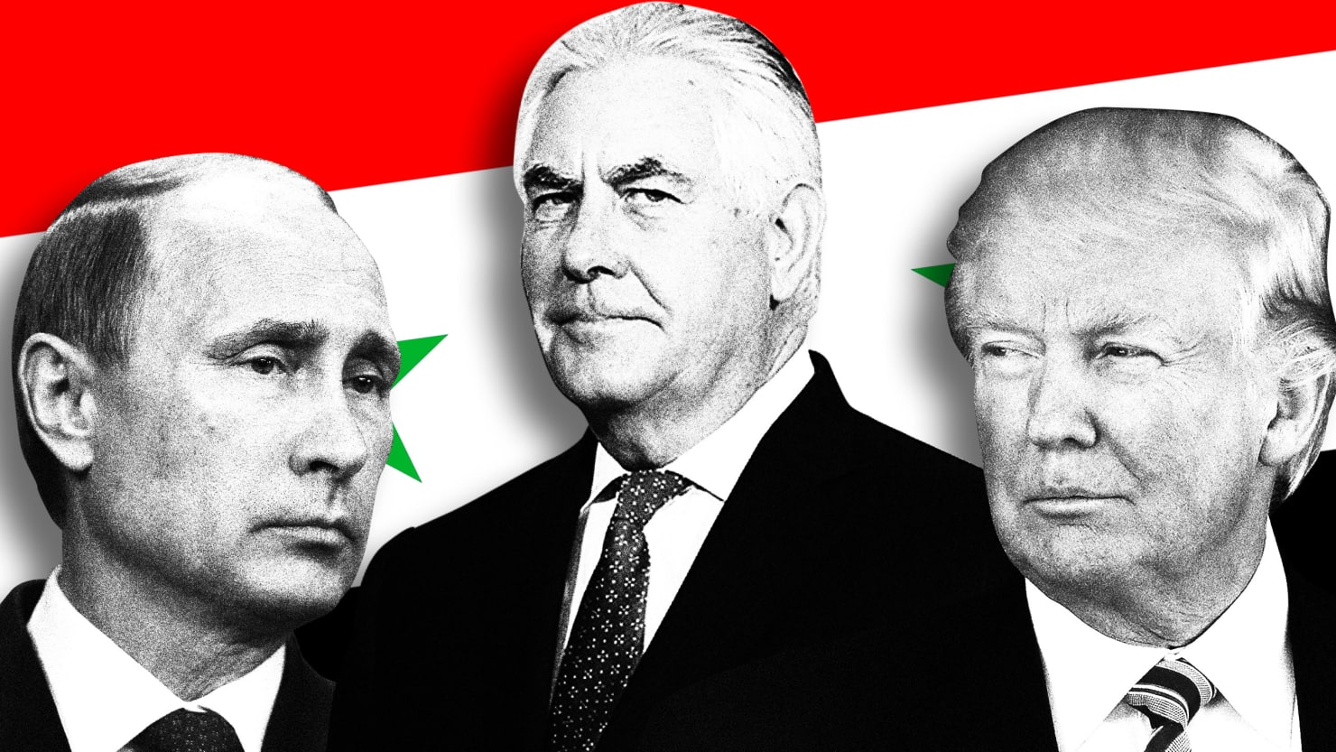 This Is Trump's Plan to Team Up With Putin in Syria—and Leave Assad in Power