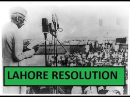 The forgotten lesson of the Lahore resolution