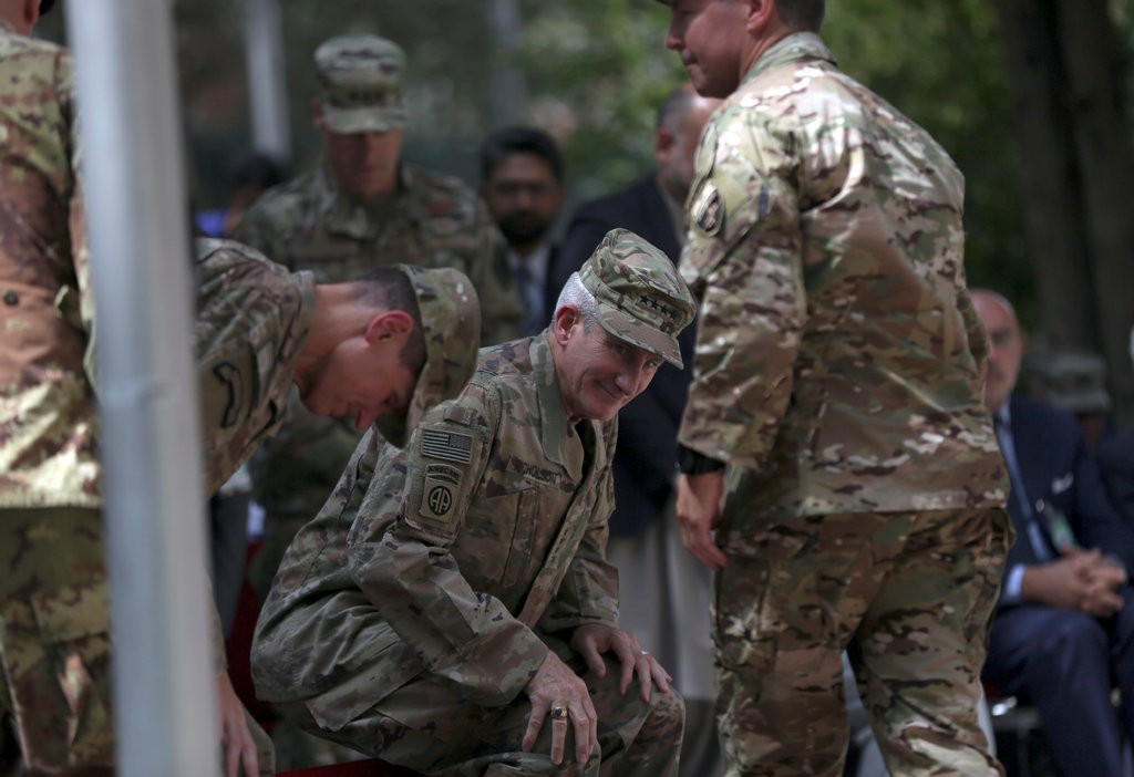 'Time for This War in Afghanistan to End,' Says Departing U.S. Commander