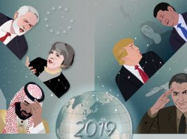Forecasting the world in 2019