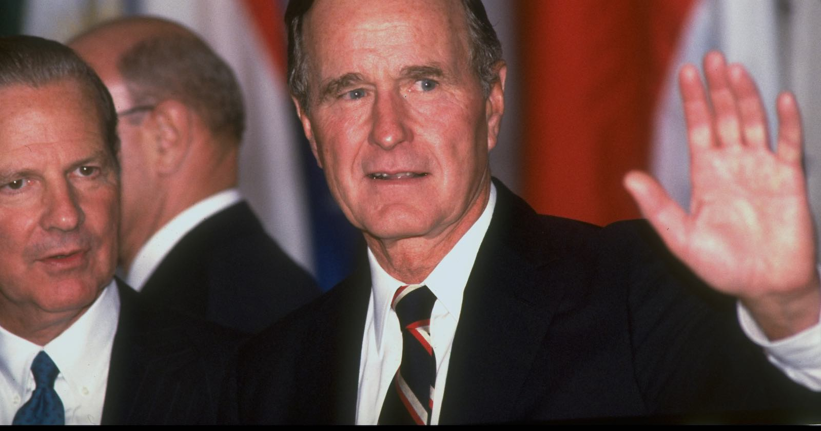 GEORGE H W BUSH—An International President