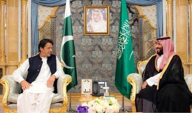 Imran Khan and Muhammad bin Salman