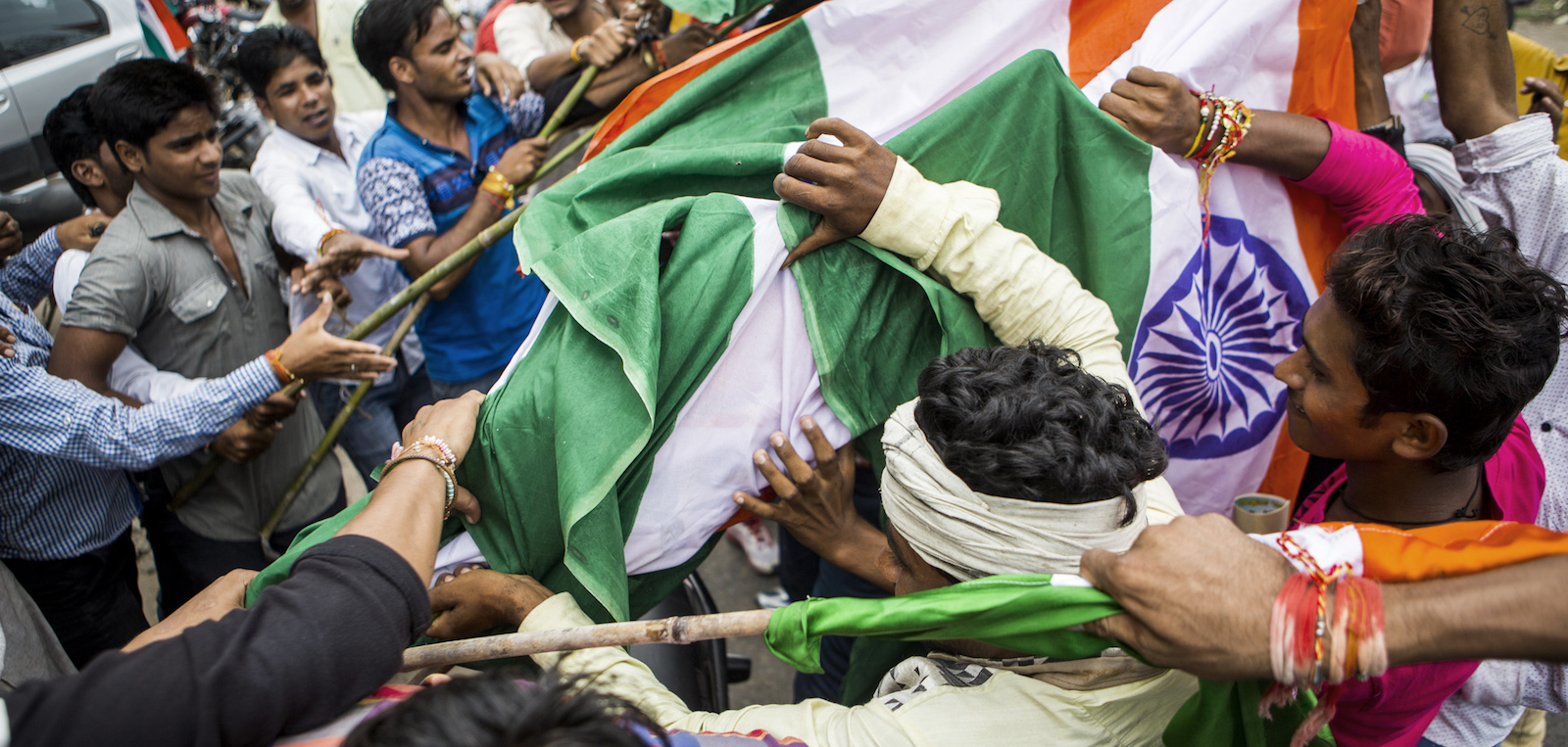 Pre - Election Unrest in India