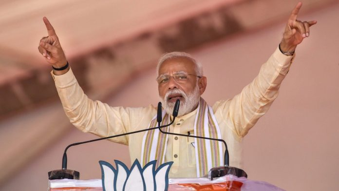 Narendra Modi is contesting 2019 elections not as India's PM but as Gujarat's CM of 2002