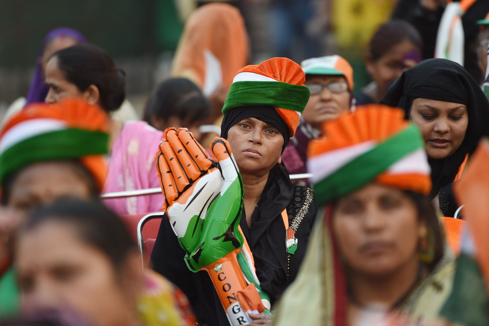 India's Congress party stares at extinction