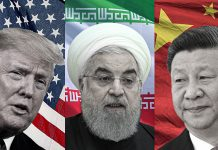 China moves towards Iran